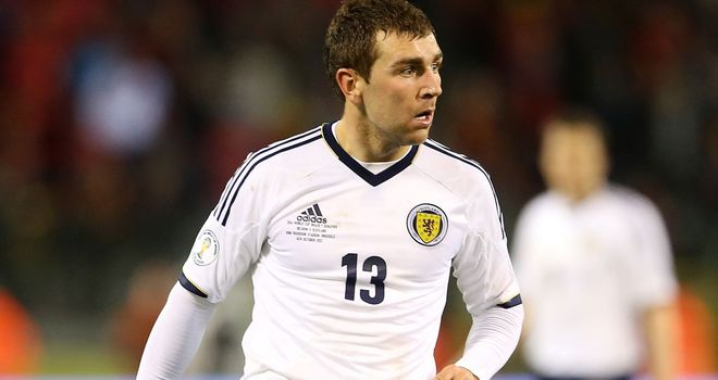 James McArthur: Enjoys working under Craig Levein with the Scotland national side