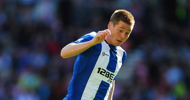 James McCarthy: No offers for Wigan midfielder