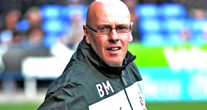 Brian McDermott: Hoping to sign two experienced players on loan in January