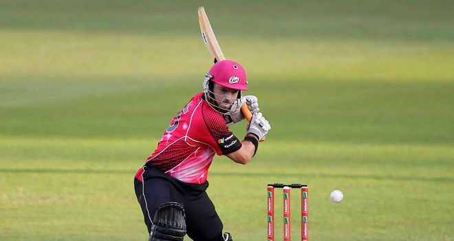 Michael Lumb: Held his nerve to see Sydney Sixers home