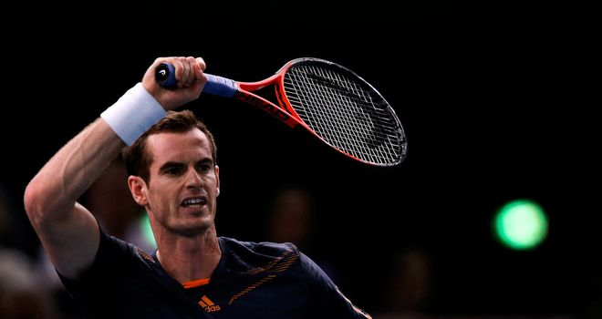 Andy Murray: Solid start to Paris Masters campaign