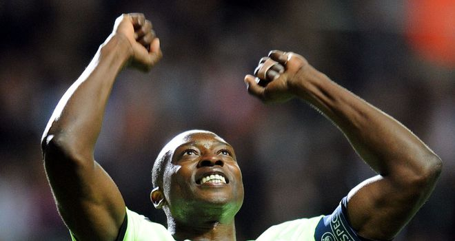 Shola Ameobi: May be offered an international call-up by Nigeria