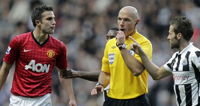 Robin van Persie: Backed the FA's decision to charge him over his confrontation with Yohan Cabaye