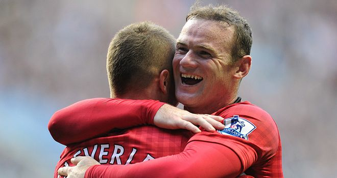 Wayne Rooney played a key role as Manchester United got back on course
