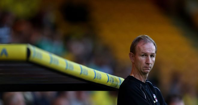 Alan Knill: Feeling a bit nervous