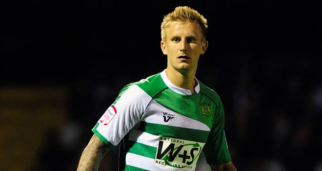 Byron Webster: Netted Yeovil's second goal
