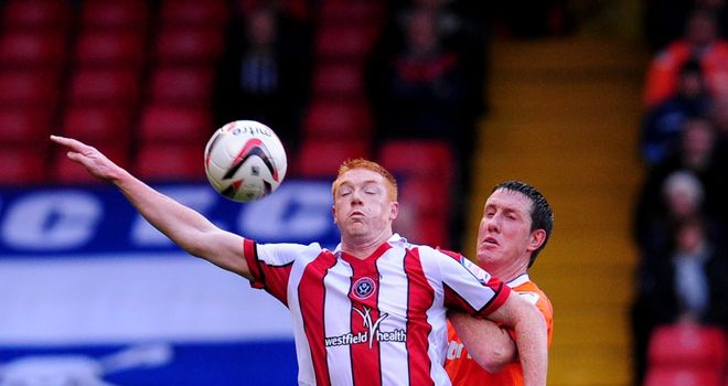 Dave Kiton: Bagged Sheffield United's third goal