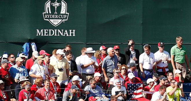 Paul Lawrie was critical of the US fans at Medinah during the Ryder Cup match
