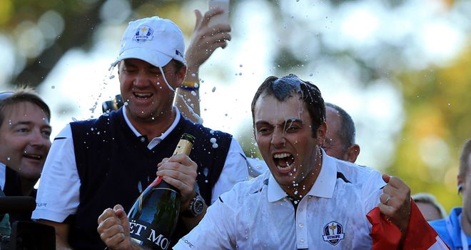 One of these two Ryder Cup winners could be spraying the champagne on Sunday