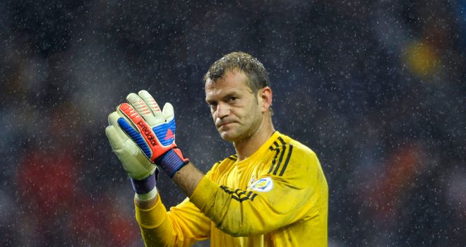 Roy Carroll: Hoping to extend his stay at Olympiakos
