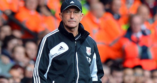 Tony Pulis: First took charge of Stoke 10 years ago this week