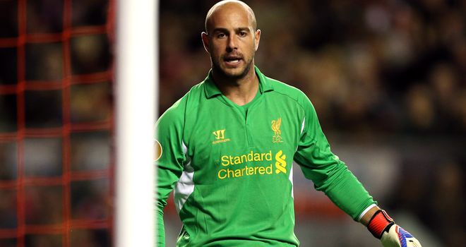 Pepe Reina: Calling for Liverpool to end season well