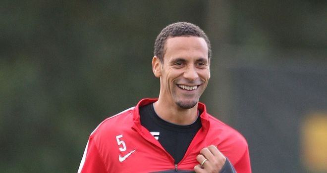 Rio Ferdinand: The Manchester United centre-back has seemingly been deemed surplus to requirements by England