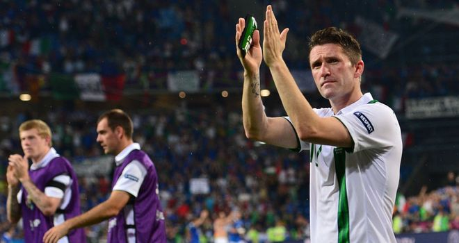 Robbie Keane: Back in starting XI