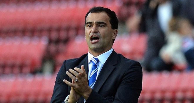 Roberto Martinez: Pleased with striker Kone