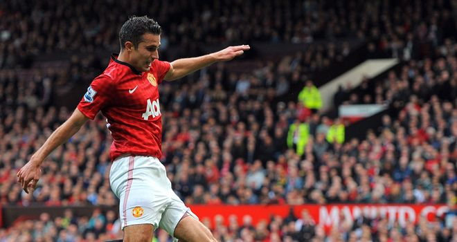 Robin van Persie: Impressed with Arsene Wenger and Sir Alex Ferguson