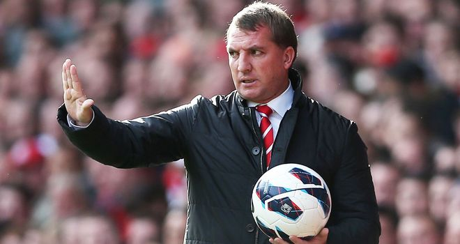 Brendan Rodgers: Grateful for the phenomenal support of fans at Anfield