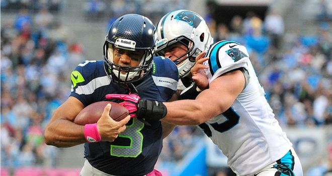 Russell Wilson: Helped Seattle secure a 16-12 win over Carolina on Sunday
