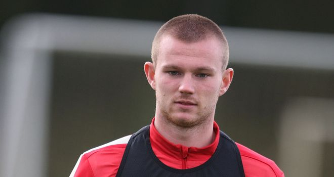 Ryan Tunnicliffe: Loaned out to Ipswich