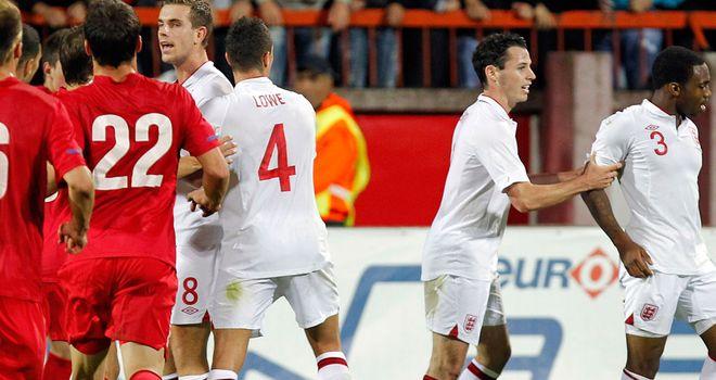 Trouble in Serbia: Ugly scenes marred England's game in Krusevac