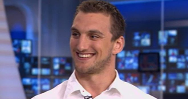Sam Warburton: already a Grand Slam winner with Wales