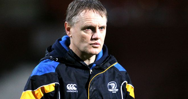 Joe Schmidt: Leading candidate for Ireland coaching vacancy
