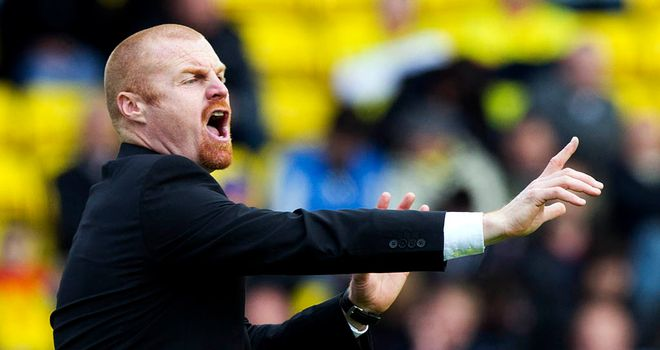 Sean Dyche: Has impressed during spells at Watford and Burnley