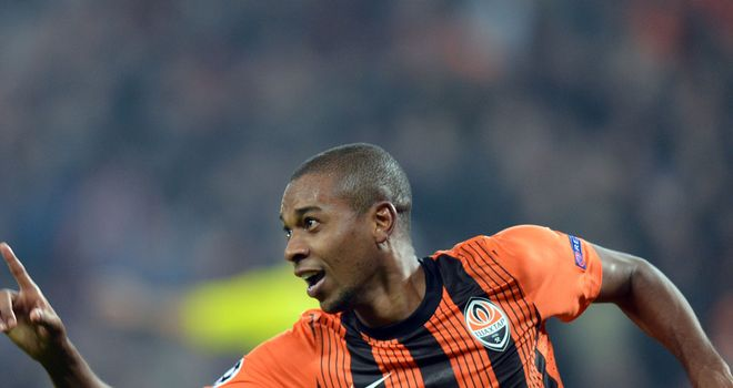 Fernandinho: Happy at Shakhtar Donetsk and not expecting to join a Premier League club