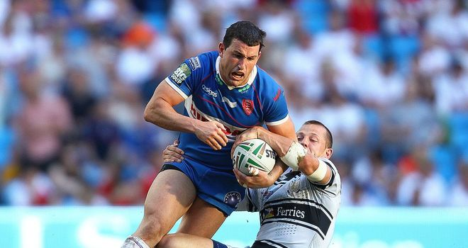 Shannon McDonnell: Says he is unfazed at the prospect of facing former team-mates in Sunday's Hull derby