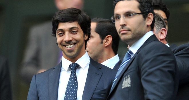 Sheikh Mansour: Has pumped large sums of cash into Manchester City