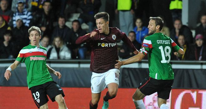 Vaclav Kadlec: Won the penalty which pulled Sparta Prague clear