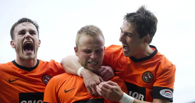 Johnny Russell: Opened the scoring early on for Dundee United