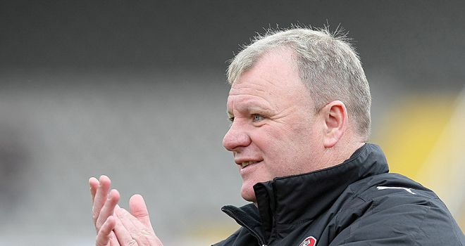 Steve Evans: Felt his side deserved to win