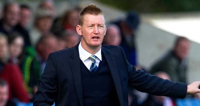 Lomas was pleased with the way in which his side won at Kilmarnock