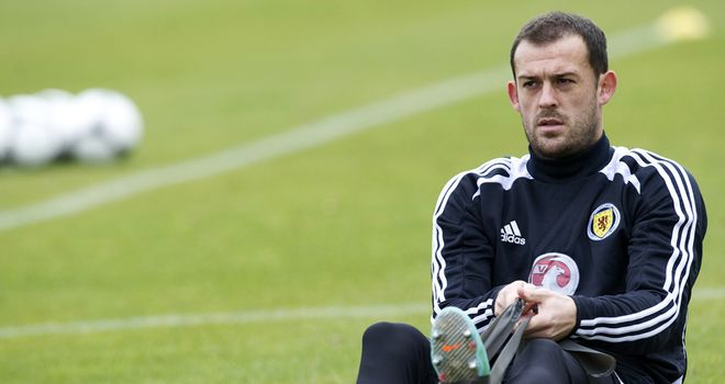 Steven Fletcher: Recalled striker will start for Scotland against Wales