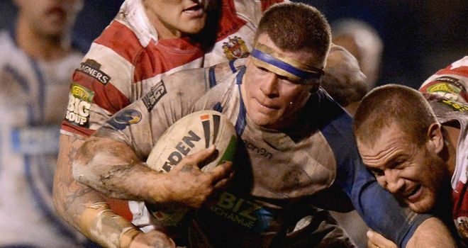 Stuart Dickens (C): Has left Featherstone to take up coaching role at Wakefield Wildcats