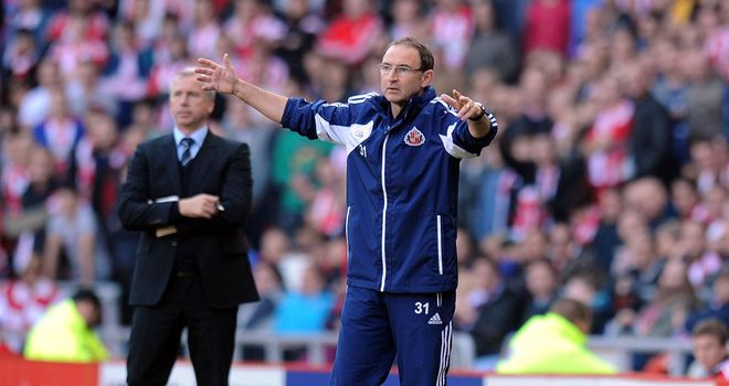 Martin O'Neill: The Sunderland manager will be concerned about his side's lack of cutting edge
