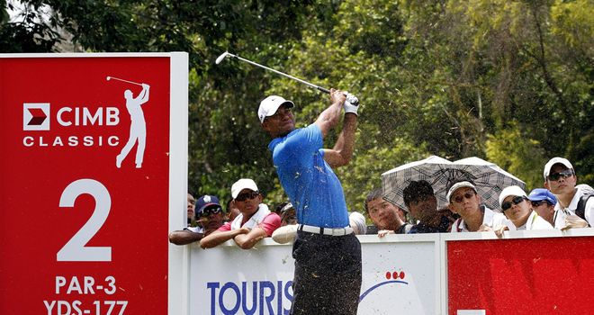 Tiger Woods: slow start but found birdies on the back nine