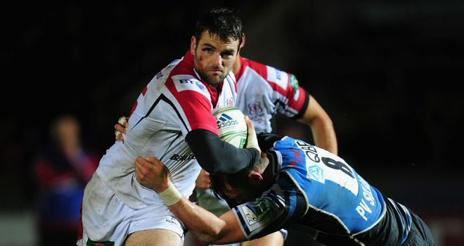 Jared Payne: two tries for Ulster