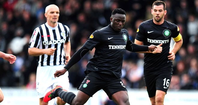 Victor Wanyama: The midfielder has been linked with a move to the Premier League