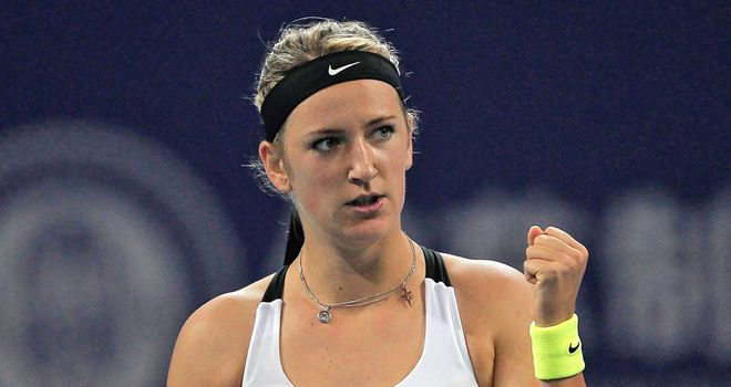 Victoria Azarenka: Eased to a 6-4 6-0 victory over Petra Martic