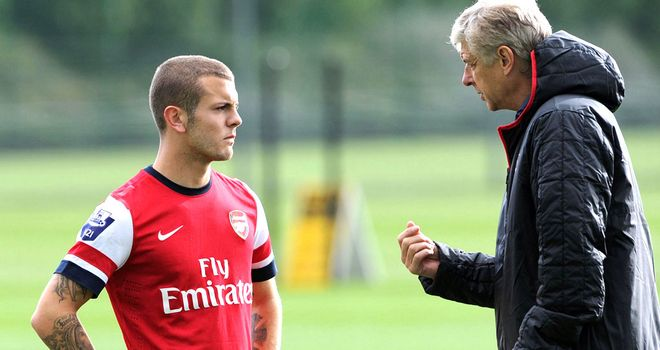 Jack Wilshere: Talks with Arsene Wenger