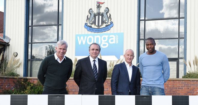 Alan Pardew is delighted to call the stadium St James' Park once again