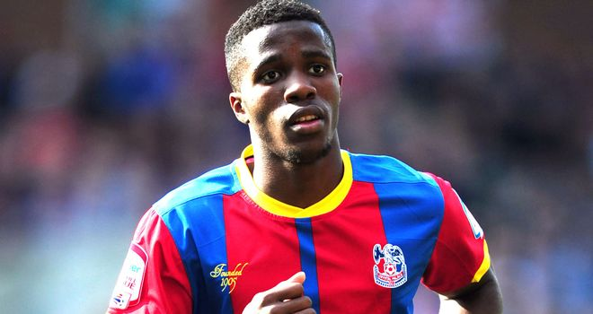 Wilfried Zaha: Heavily linked with a January move to the Premier League