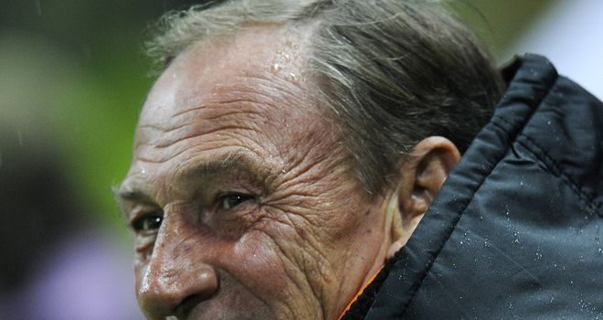 Zdenek Zeman: Not happy with Osvaldo