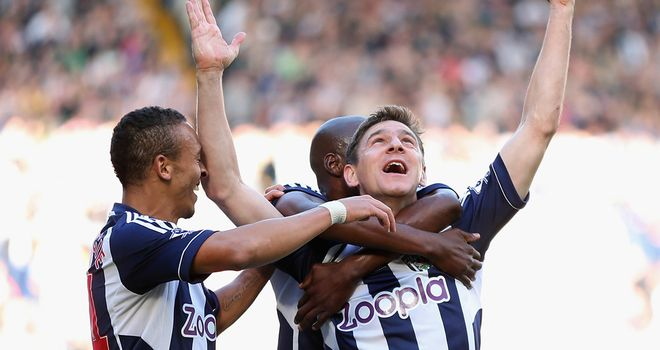 Zoltan Gera: Arguably the catalyst for Albion's flying start