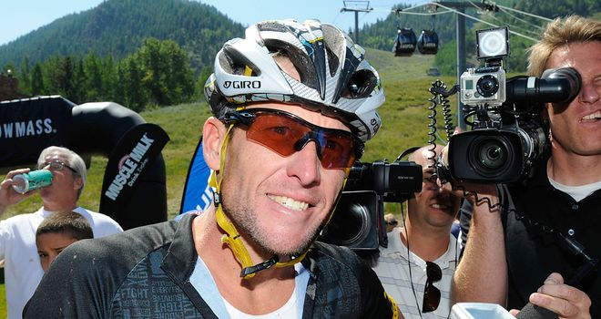Lance Armstrong: The work goes on for his cancer charity