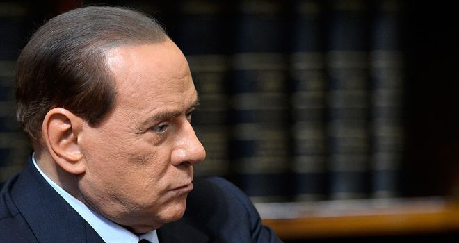Silvio Berlusconi: Says Milan can&#39;t afford Balotelli or Kaka