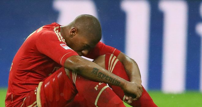 Jerome Boateng: Netted an own-goal for Bundesliga leaders Bayern