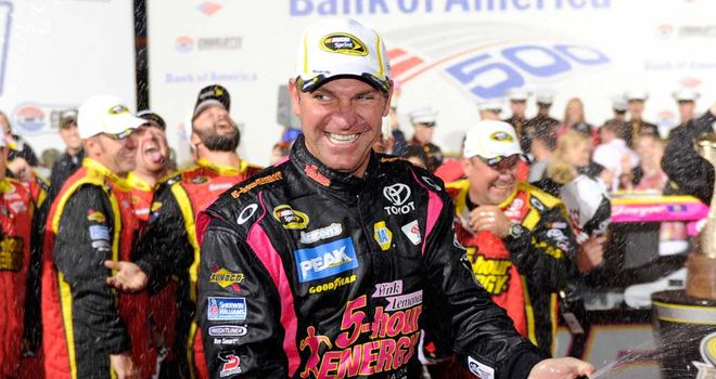 Clint Bowyer: Celebrating Chase success at Charlotte Motor Speedway